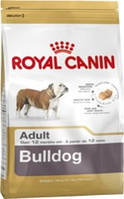 КОРМ ДЛЯ СОБАК ROYAL CANIN (РОЯЛ КАНИН) BULLDOG ADULT 12КГ (АНГЛИЙСКИЙ БУЛЬДОГ ОТ 12МЕС.)