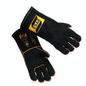 Перчатки для сварки в условиях повышенной механической нагрузки SAB Heavy Duty Black ESAB