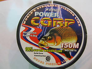 Леска для рыбалки с сечением 0,35мм Winner 150м