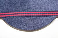 ТЖ 15мм репс (50м) т.синий+красный , фото 1