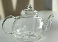 Чайник стекляный заварочный