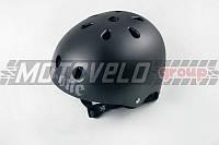Шлем райдера (size:M, черный матовый) (США) S-ONE