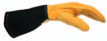 Перчатки эргономичной формы для TIG сварки ESAB Curved TIG Glove ESAB