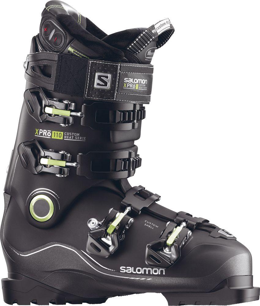 Горнолыжные ботинки Salomon X PRO Custom Heat BK/Metablac (MD) 26.5