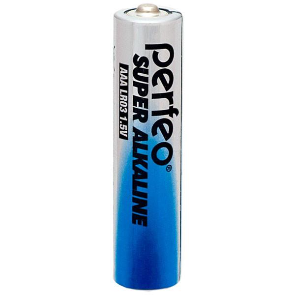 Perfeo батарейка LR03 ААА 1,5V, Super alkaline, Blister/10