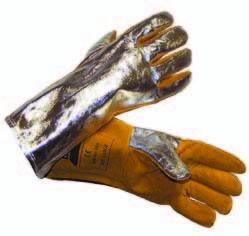 Перчатки для сварки в условиях повышенной нагрузки ESAB Heavy Duty Aluminium 250 С°