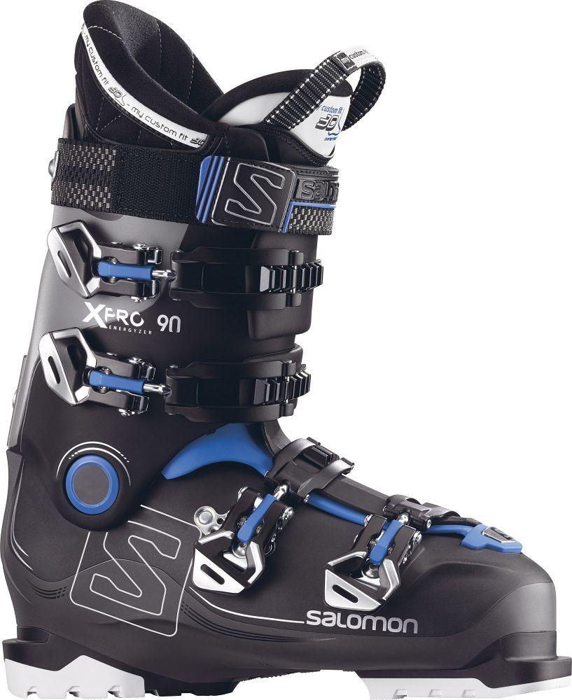 Горнолыжные ботинки Salomon X PRO 90 black/Anthracite/GY (MD)