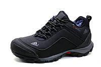 Зимние кроссовки Adidas Climaproof, черные., нубук, фото 1