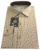 Рубашка мужская c принтом  № S 66.5, фото 1