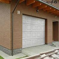 Секционные подъёмные ворота для гаража
