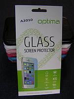 Защитное стекло для Lenovo A2010 A2580 A2860 закаленное 0.3 mm 2.5D 9H