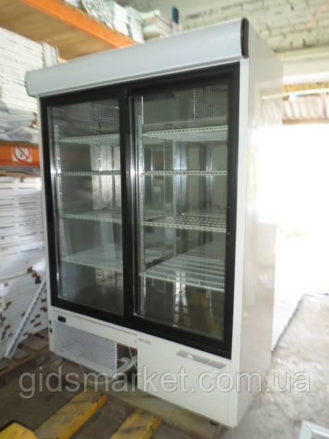 Холодильные шкафы б/у с распашной прозрачной дверью и дверью купе от 600 до 1400 Литров.
