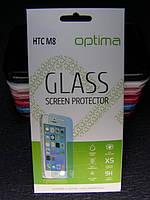 Защитное стекло для HTC ONE M8  закаленное 0.3 mm 2.5D 9H