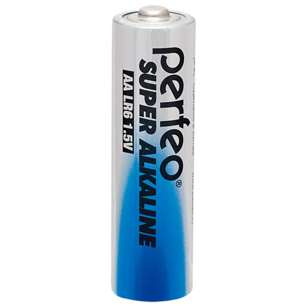 Perfeo батарейка LR6 АА 1,5V, Super alkaline, Blister/2