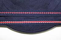 ТЖ 15мм (50м) т.синий+белый+красный , фото 1