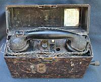 Телефон полевой военный Вермахт 1941 3 рейх