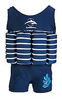 Купальник-поплавок Konfidence Floatsuits, Цвет: Blue Stripe, M/ 2-3 г (FS01SC)