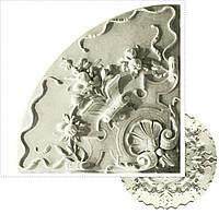 Гипсовая лепнина - розетка d-379