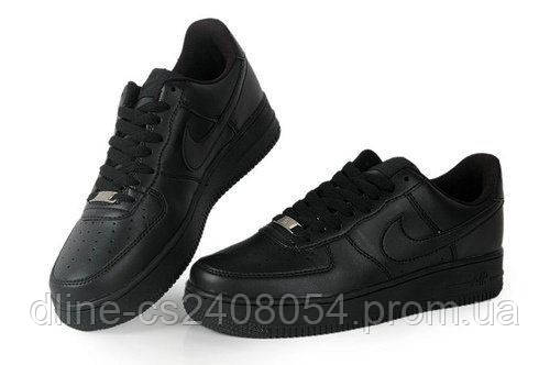 Женские кроссовки Nike Air Force Low Черные