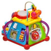 Развивающая игрушка Мультибокс Happy Small World 806