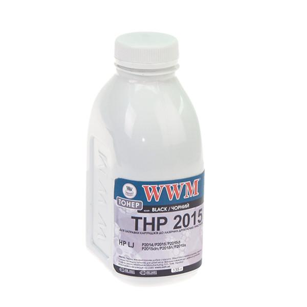 Тонер WWM для HP LJ P2015 бутль 135г (TB89)