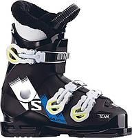 Горнолыжные ботинки детские Salomon Team T3 Black/White/ACIDE GRE (MD 17)