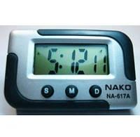 Автомобильные электронные часы  Nako NA617A     . t-n