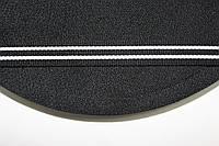 ТЖ 15мм репс (50м) черный+белый, фото 1