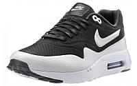 Женские кроссовки Nike Air Max 87 Ultra Moire Чёрно-белые, фото 1