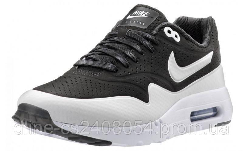 Женские кроссовки Nike Air Max 87 Ultra Moire Чёрно-белые