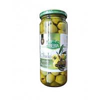 Оливки зеленые маринованные Iberia без косточки 340 г