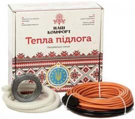 Теплый пол Двухжильный нагревательный кабель НАШ КОМФОРТ БНК-1440