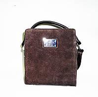 Превосходная женская сумка-клатч из натурального замша и искусственной кожи FGS-996342