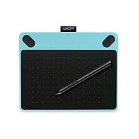 Планшет графический Wacom intuos Draw Blue Pen S
