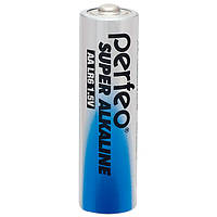 Perfeo батарейка LR6 АА 1,5 V, Super alkaline, Shrink/4