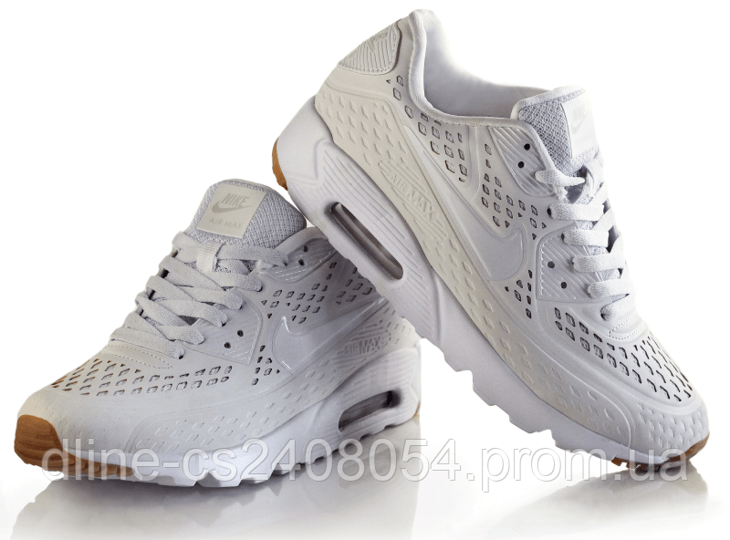 Женские кроссовки Nike Air Max 90 Ultra BR White - KROSIKI Обувной интернет  магазин в Киеве 7024462f6bf