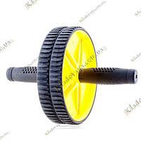 Сдвоенное колесо для пресса - триммер, фото 1
