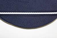 ТЖ 15мм елочка (50м) т.синий+белый