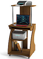 Компьютерный стол Zeus Davos-2 Орех (SDK-4) Эскадо
