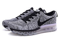 Женские кроссовки Nike Air Max Flyknit Grey, фото 1