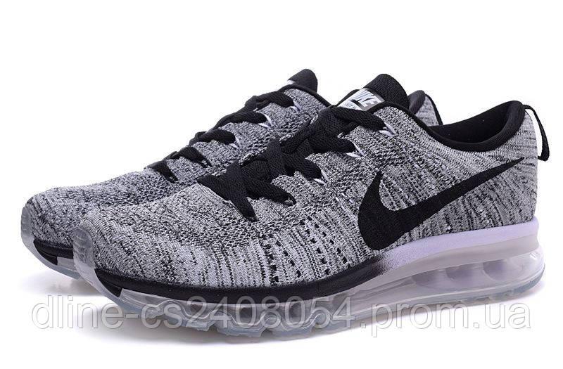 Женские кроссовки Nike Air Max Flyknit Grey