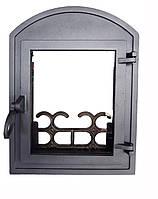Чугунная каминная дверца - VVK 35х46см-26х32см 3