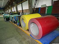 Рулон оцинкованный с полимерным покрытием 0,45х1250 RAL 3005 (гнилая вишня)