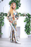 Женский велюровый костюм про-во Турция Eze, размеры 50,52,54,56, фото 2