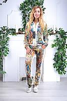 Женский велюровый костюм про-во Турция Eze, размеры 50,52,54,56, фото 1