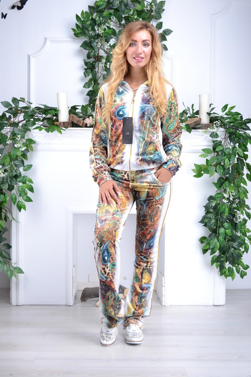 Женский велюровый костюм про-во Турция Eze, размеры 50,52,54,56