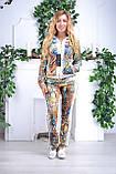 Женский велюровый костюм про-во Турция Eze, размеры 50,52,54,56, фото 4