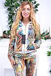 Женский велюровый костюм про-во Турция Eze, размеры 50,52,54,56, фото 5