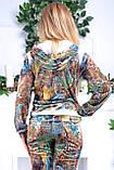 Женский велюровый костюм про-во Турция Eze, размеры 50,52,54,56, фото 6