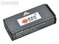 Аккумулятор для экшн видеокамеры Midland BATT9L, 1300 mAh.